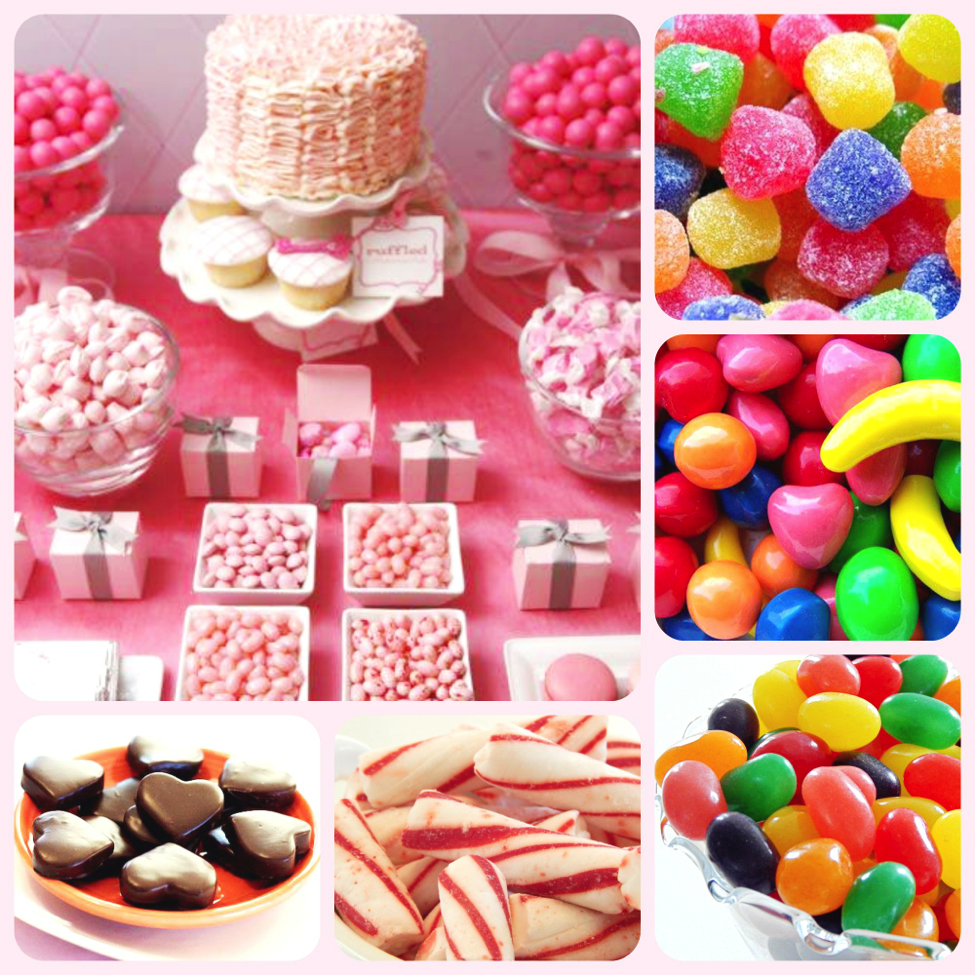 Keeping The Candy Buffet Neat And Stocked